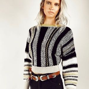FREE PEOPLE Show Me Love Sweater NWT M